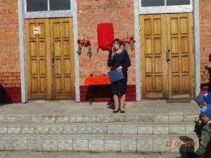 выступление руководителя школьного музея