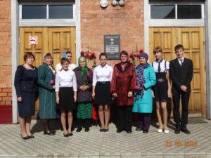 гости и участники линейки