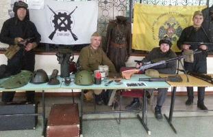 Урок мужества «Вместе с Танкоградом!»