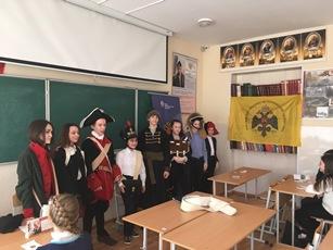 Урок живой истории в МБОУ «СОШ № 137 г. Челябинска»