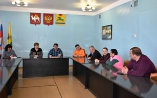 Встреча по вопросу реконструкции памятника в деревне Бажикаева.