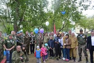 В День участников боевых действий южноуральские воины подарили праздник детям-сиротам