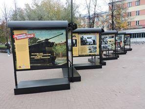 Уникальная фотовыставка рассказывает челябинцам о подвиге Танкограда