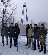 Установка памятной доски  в Аргаяшском районе Челябинской области
